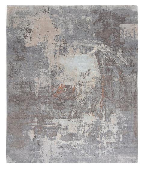Abstracts 1 grey de THIBAULT VAN RENNE | Alfombras / Alfombras de diseño