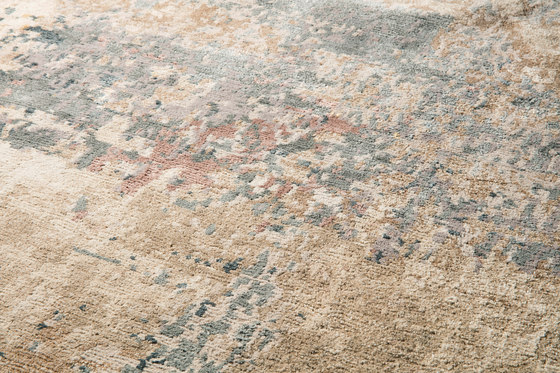 Abstracts 1 beige by THIBAULT VAN RENNE | Rugs