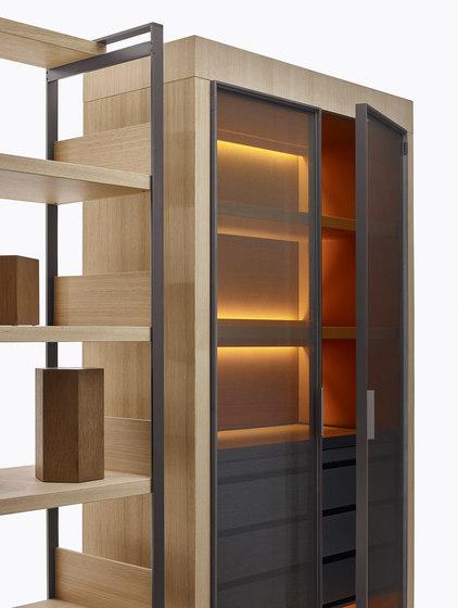 Eracle by Maxalto | Display cabinets