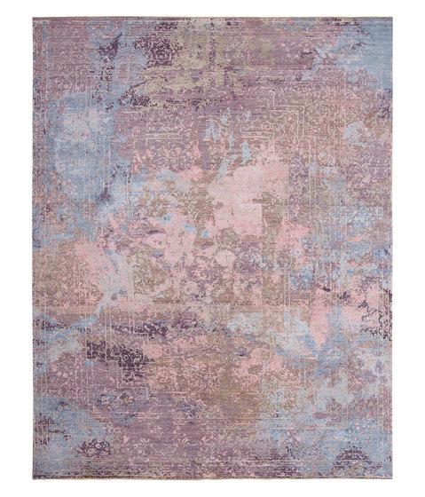 Elements Savonnerie pink purple blue by THIBAULT VAN RENNE | Rugs