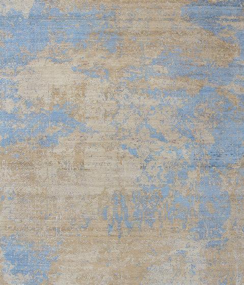 Elements Savonnerie Saffron blues by THIBAULT VAN RENNE | Rugs