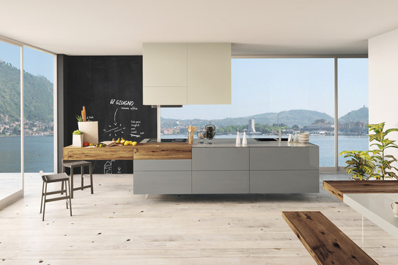 36e8_kitchen by LAGO | Island kitchens