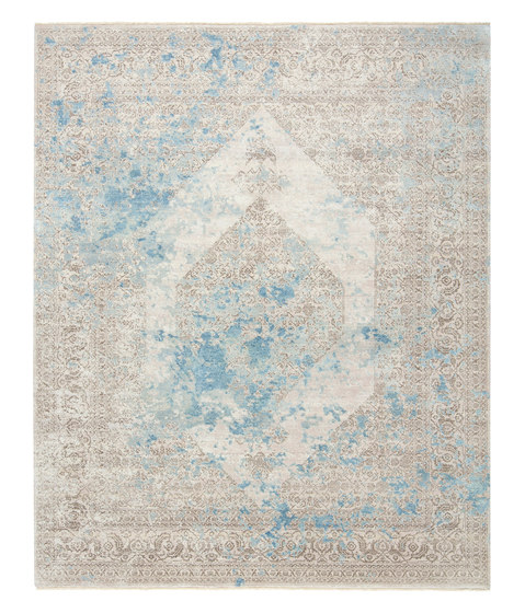 Immersive Lost memory brown blue by THIBAULT VAN RENNE   Rugs