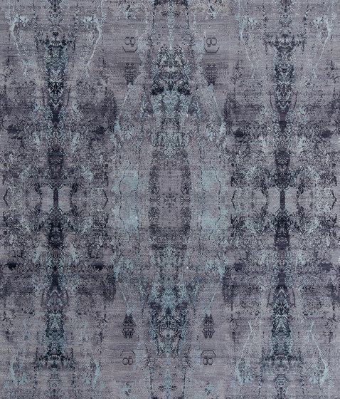 Visual purple blues by THIBAULT VAN RENNE | Rugs