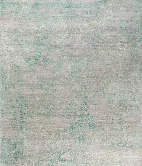 Viviane VIV9 in grey turquoise de THIBAULT VAN RENNE | Alfombras / Alfombras de diseño
