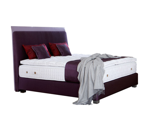 Sleeping Systems Collection Platinum | Headboard Saint Germain violet by Treca Interiors Paris | Double beds