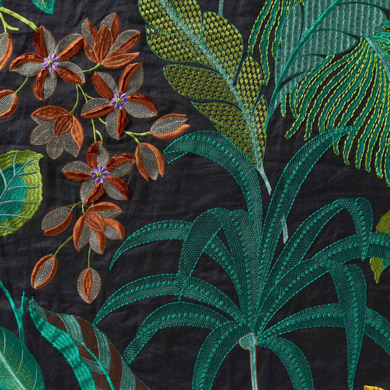 Hibiskus 10579_74 by NOBILIS | Drapery fabrics