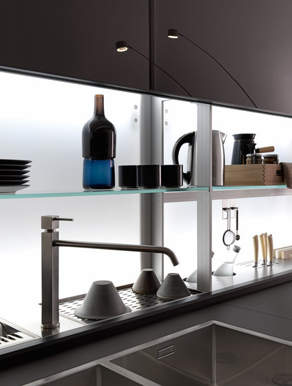 Genius Loci | with copper drawer by Valcucine | Fitted kitchens