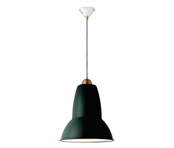 Original 1227™ Giant Brass Pendant by Anglepoise   Suspended lights