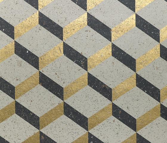 Printed Cork 3D Square - LUX26 de NOBILIS | Revestimientos de paredes / papeles pintados