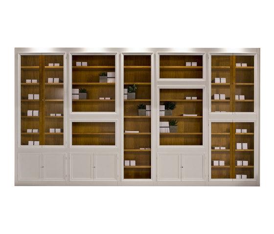 Maschera modular bookcase von Morelato   Vitrinen