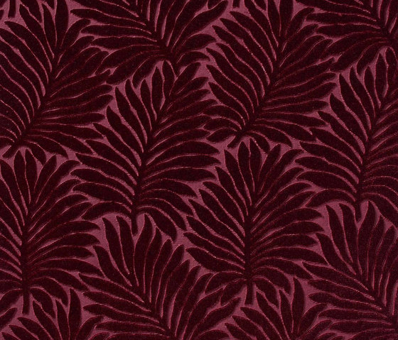 Velours Palmes 10594_52 by NOBILIS   Drapery fabrics