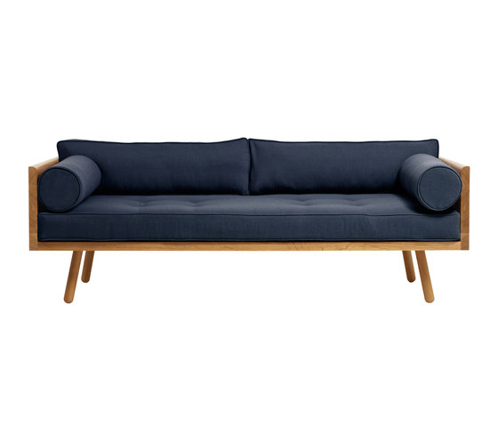 Sofa One - Clyde Indigo by Another Country | Sofas