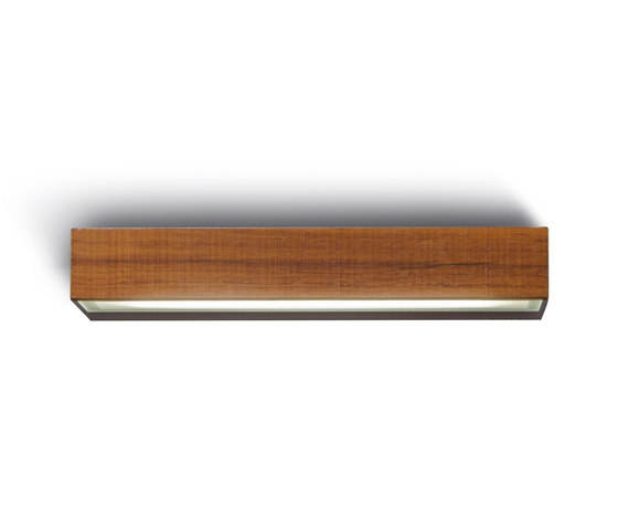 Mini-Look Wood Applique Simple E'Mission L 220mm de Simes | Appliques murales