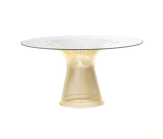 Platner High Table Gold de Knoll International | Mesas comedor
