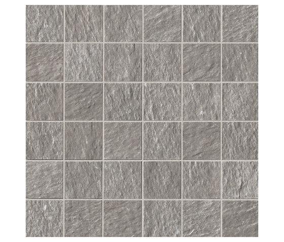 Maku Grey Gres Macromosaico OUT de Fap Ceramiche | Mosaicos de cerámica