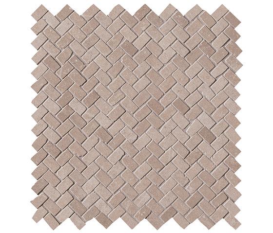 Maku Nut Gres Mosaico Spina Matt de Fap Ceramiche | Mosaïques céramique