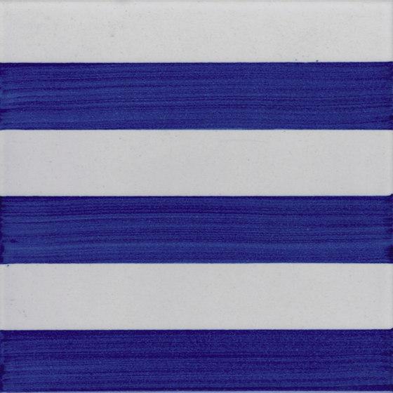 P Righe Blu by La Riggiola | Ceramic tiles