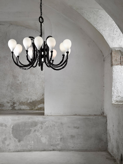 Das Pop | Chandelier by LASVIT | Suspended lights