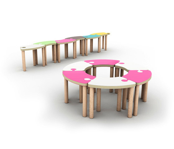 Puzzle by KLOSS | Kids stools