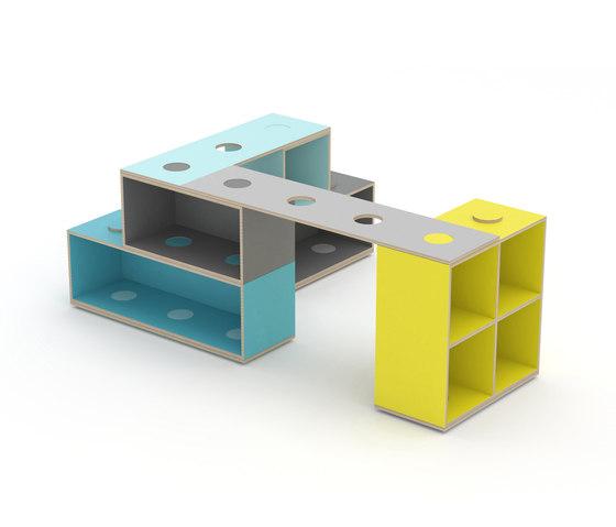 KLOSS™ Modules by KLOSS | Kids storage furniture
