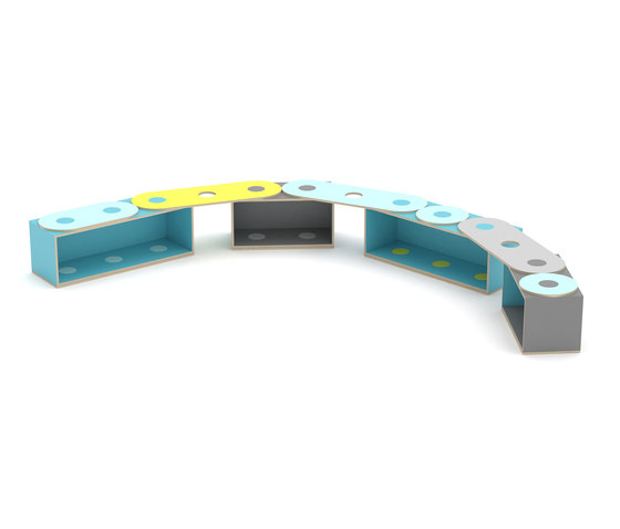 KLOSS™ Modules de KLOSS | Bancs pour enfants