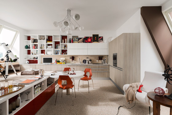 Carrera by Veneta Cucine | Fitted kitchens