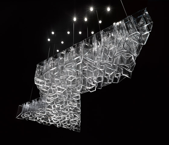 Ice by LASVIT   Suspended lights
