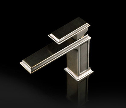Gessi Fascino Single-Handle Brushed Nickel Faucet by Gessi USA | Wash basin taps