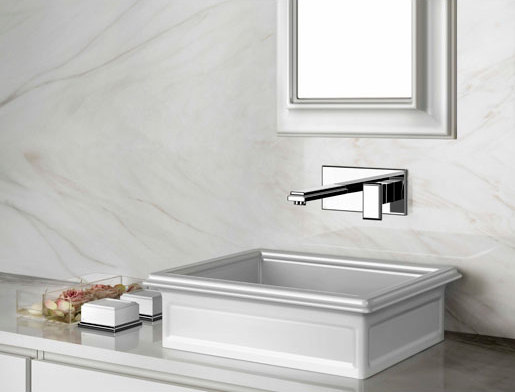 Gessi Fascino Wall-Mount Faucet by Gessi USA   Wash basin taps