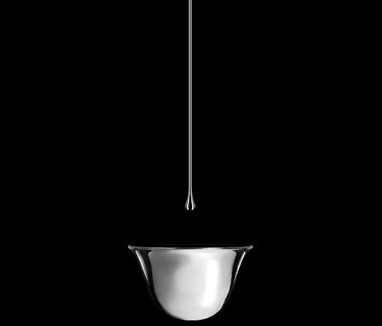 Gessi Goccia Vessel Lav and Ceiling-Mount Faucet by Gessi USA | Wash basin taps