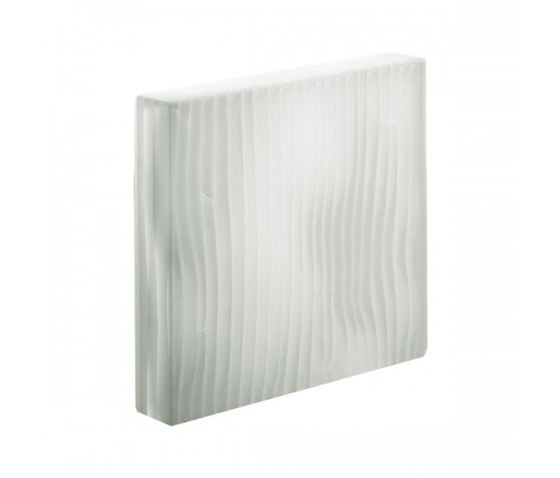 Ribbon | White by Interstyle Ceramic & Glass | Decorative glass