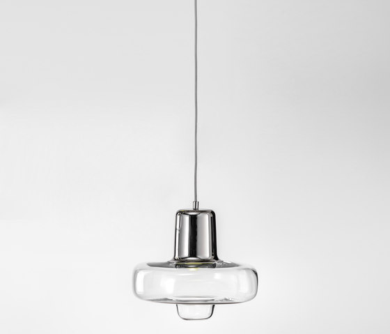 Spin Light | Small Silver by LASVIT | Suspended lights