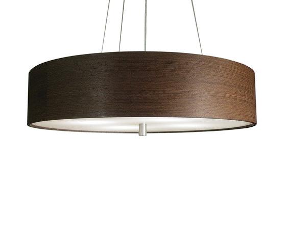 Wood Veneer Drum Pendant by Donovan Lighting   Suspended lights