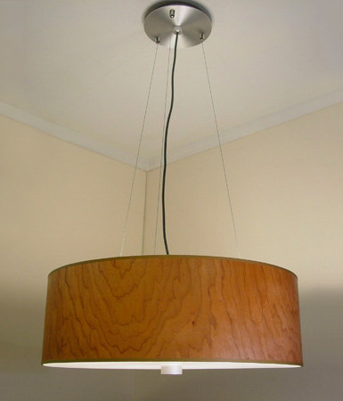 plywood lighting. wood veneer drum pendant general lighting donovan plywood