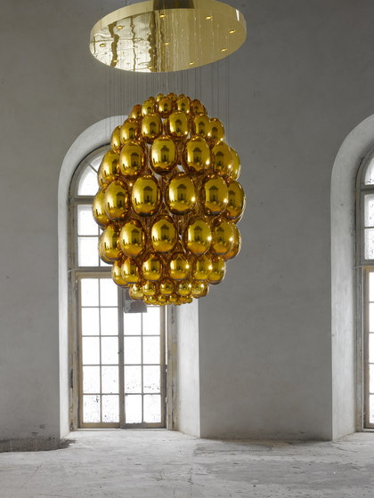 Uovo   Large by LASVIT   Suspended lights