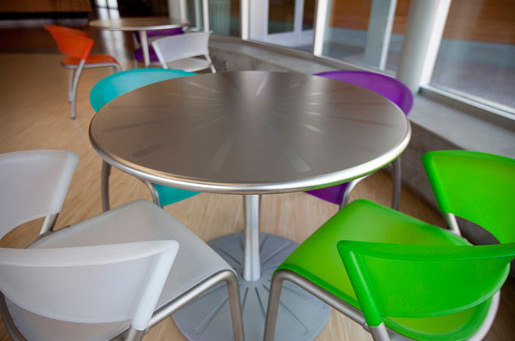 Citrus Table by Forms+Surfaces® | Cafeteria tables