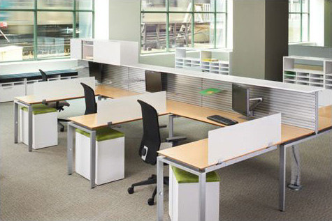 Priority Desks From Kimball Office Architonic