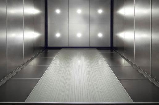 Elevator Interiors de Forms+Surfaces® | Baldosas metálicas