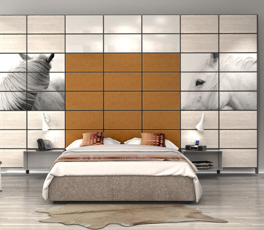 System 1224: A Modular Shelving, Display, and Cabinet System by B+N Industries | Wall panels