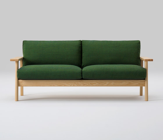 Bruno Wide Two Seater Sofa de MARUNI | Canapés d'attente