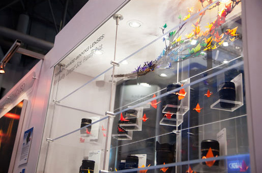 Acrylic Rod Shelving Display by Gyford StandOff Systems® | Display stands