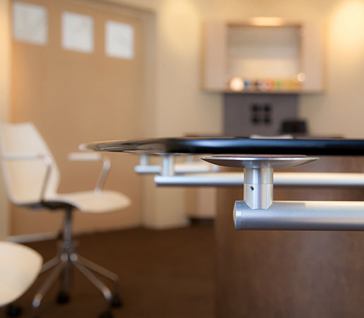 Conference Table Hardware by Gyford StandOff Systems® | Trestles