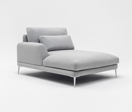 Classic Récamière von Comforty | Modulare Sitzelemente