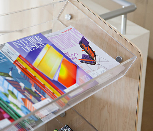 Magazine Rack Hardware by Gyford StandOff Systems® | Display stands
