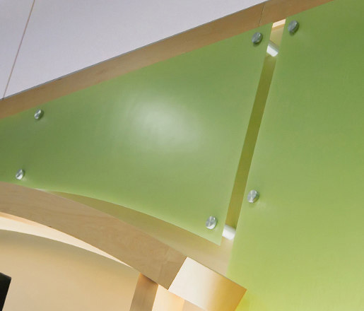 Panel Hanging Hardware by Gyford StandOff Systems®   Glass holders