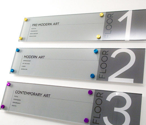 Signage Hardware by Gyford StandOff Systems® | Sign holders