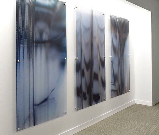 StandOff Art Panels by Gyford StandOff Systems®   Glass holders