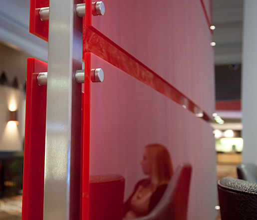 StandOff Lobby Divider by Gyford StandOff Systems® | Wall partition systems