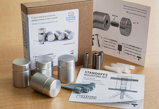 StandOff Mounting Kits by Gyford StandOff Systems® | Holders / Fixtures